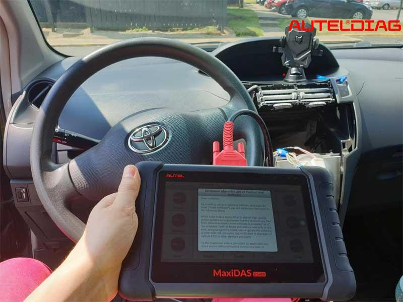 Autel MaxiDAS DS808K OBD2 Scanner Review