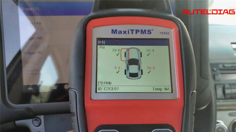 Program TPMS Autel MX-Sensor
