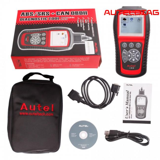 Autel AutoLink AL619 Code Reader Review 2020