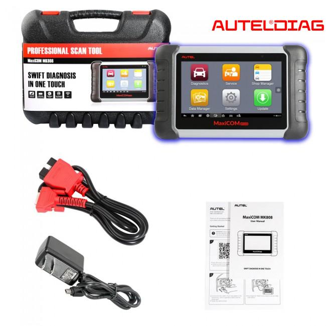 Autel MaxiCOM MK808 Automotive Diagnostic Tool Review 2020