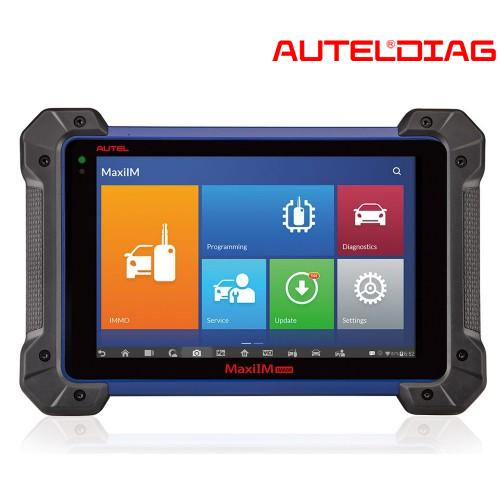 Autel MxiIM IM608 Key Programmers: Read + Erase Codes Instructions