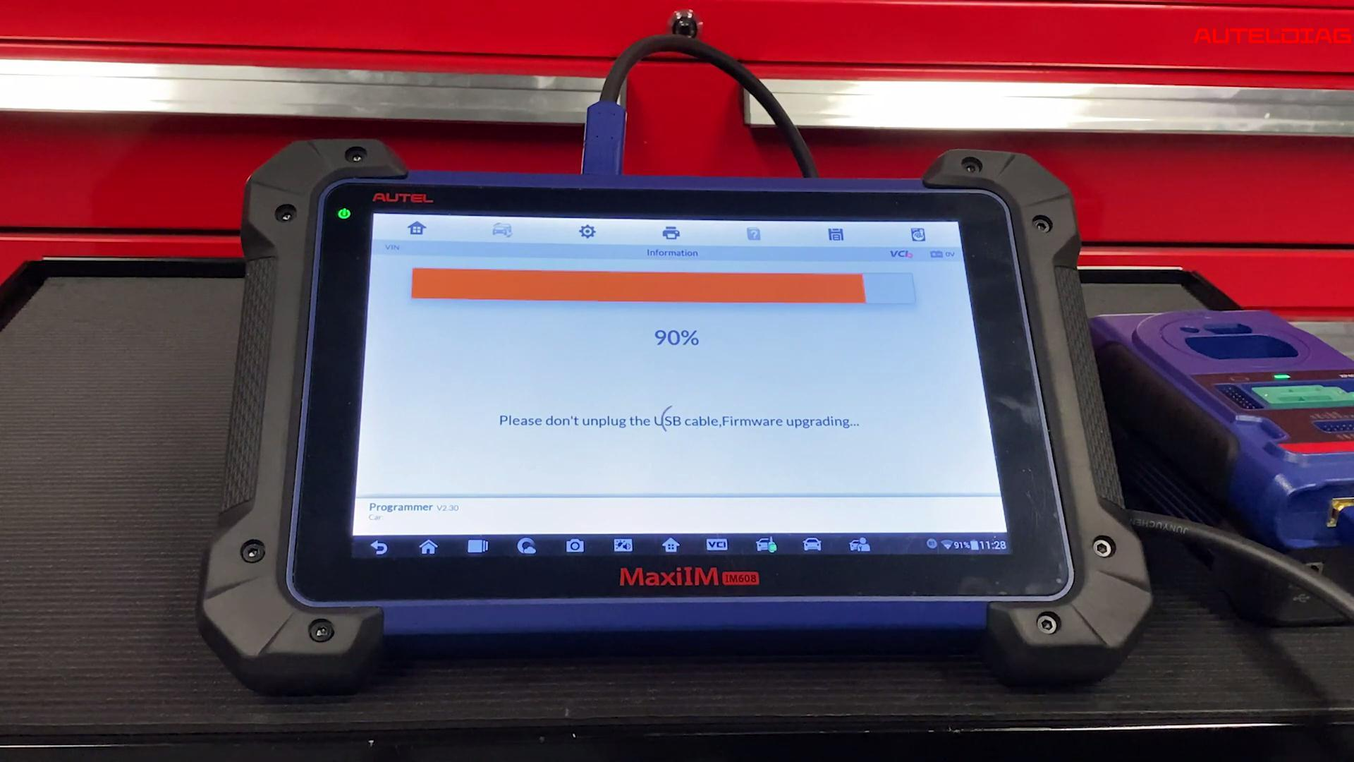 How to update Autel MaxiIM 608 Key Programmer with VCI & XP400