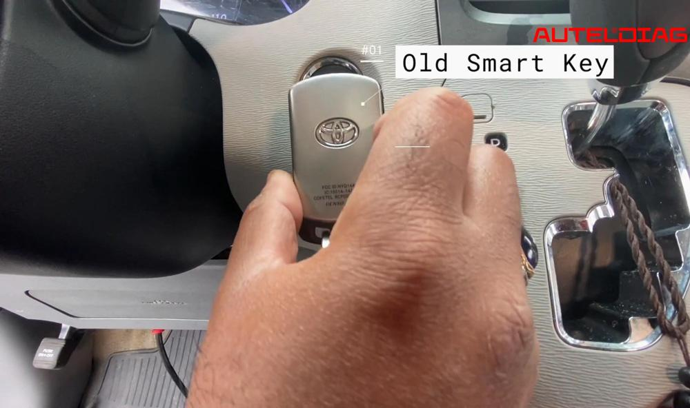 Autel MaxiSys Elite Add a Smart Key for Toyota Sienna