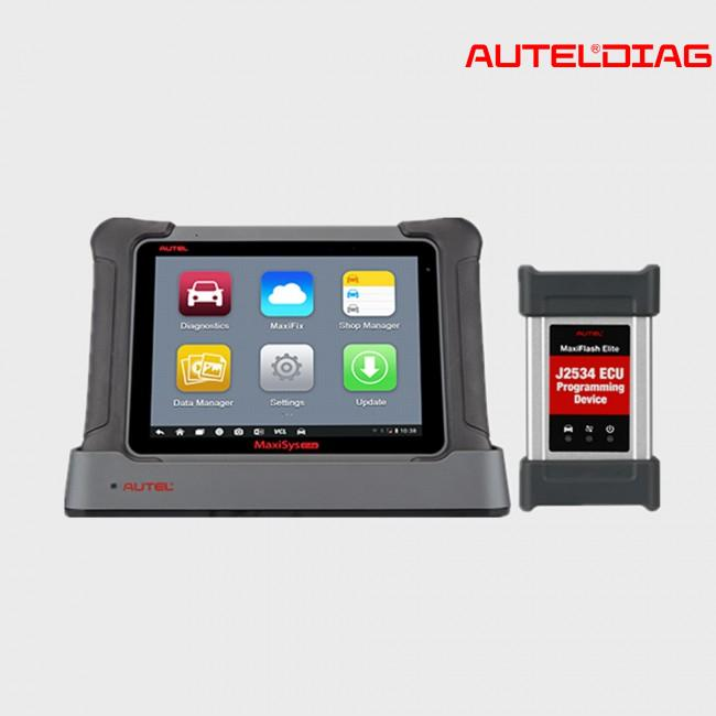 Autel MaxiSys Elite Instruction of Maintenance & Troubleshooting Checklist