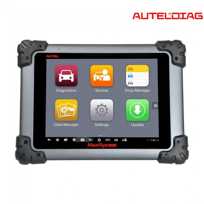 Autel MaxiSys MS908S Pro Instruction of DPF & IMMO Service