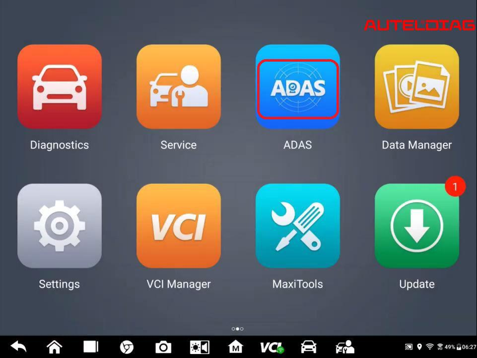 Autel MaxiSys Tablet Series ADAS Upgrade Installation