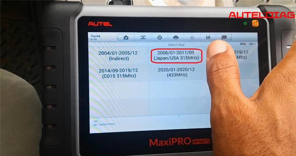 autel-mp808ts-tpms-relearn-for-2007-toyota-camry (7)