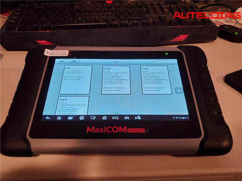 Autel Maxicom Mk808bt Obd2 Diagnostic Scanner Review (2)