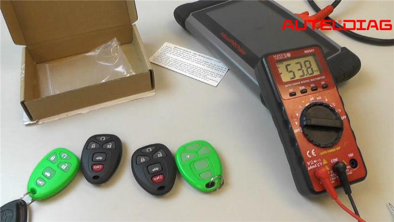 Autel Maxipro Mp808 Program 2006 Chevy Malibu Key Fobs (1)