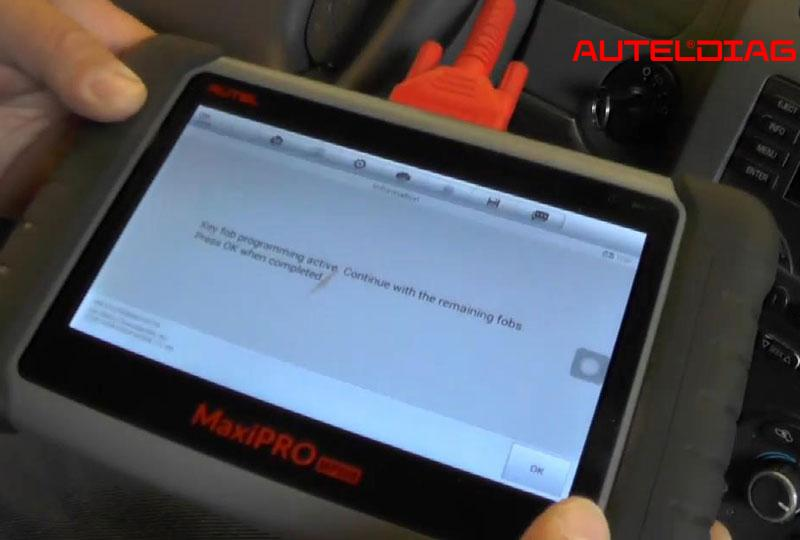 Autel Maxipro Mp808 Program 2006 Chevy Malibu Key Fobs (10)
