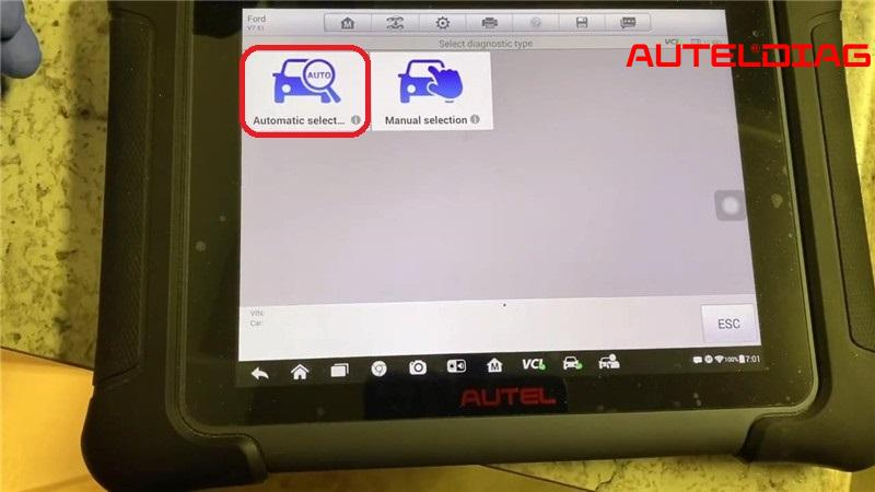 Ford Focus Oil Change Required Reset Via Autel Maxisys Elite (4)