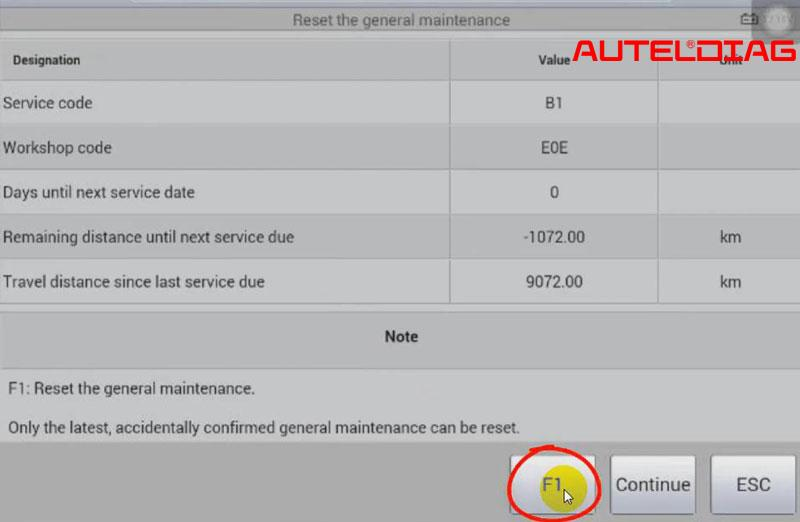 Mercedes C200 2011 Oil Reset Via Autel Maxisys Ms906 (13)