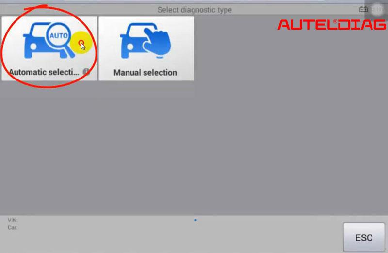 Mercedes C200 2011 Oil Reset Via Autel Maxisys Ms906 (2)