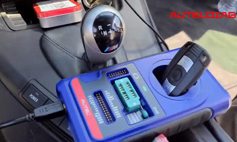 2011 Bmw M3 Add A Key By Autel Im508 Xp400 Pro (11)