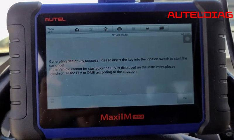 2011 Bmw M3 Add A Key By Autel Im508 Xp400 Pro (12)