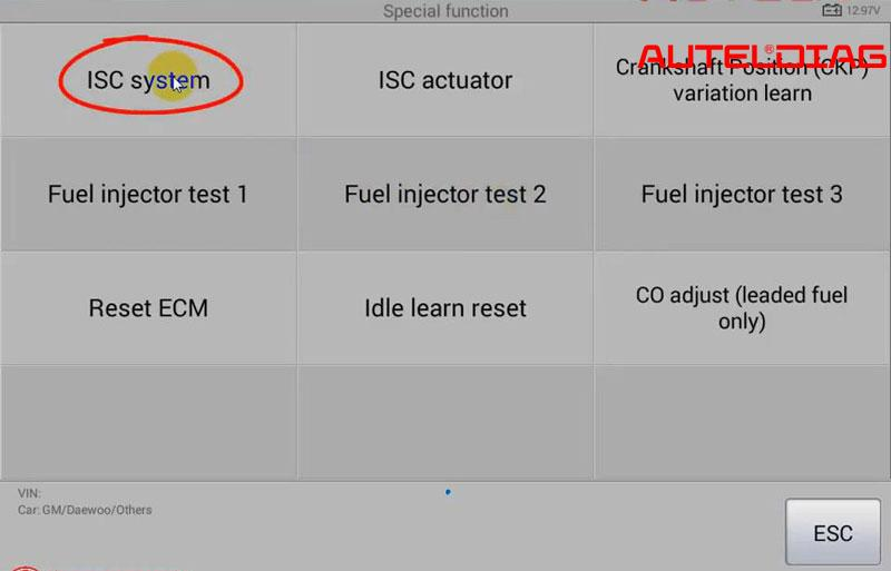 Autel Ms906 Reset Isc System For 2009 Gm Daewoo (12)