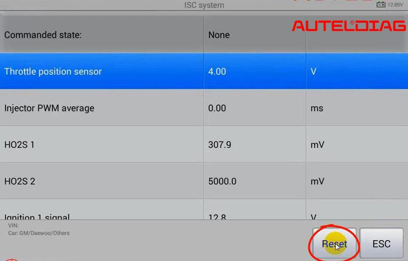 Autel Ms906 Reset Isc System For 2009 Gm Daewoo (13)