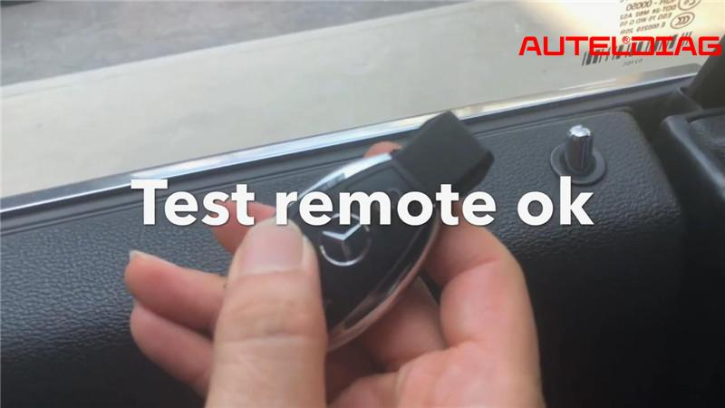 Mercedes E250 W207 Add Remote Key Via Autel Im508 Xp400 Pro (24)