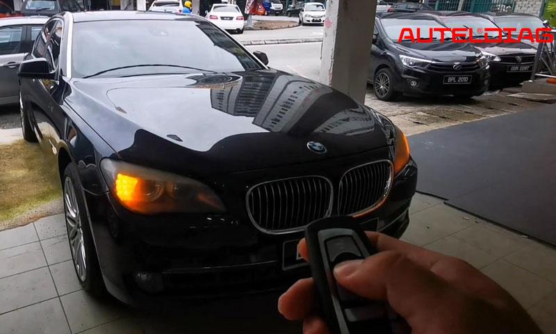 Program Bmw F10 Cas4 All Key Lost Via Autel Im508 By Obd (18)