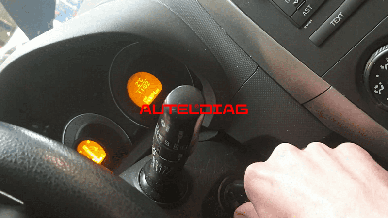 Autel Im608 Add Key For Toyota Auris 2007 19