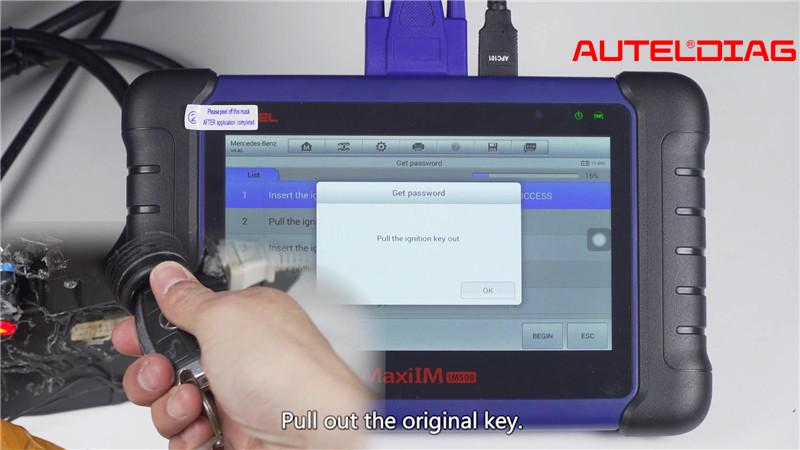 Mercedes W207 2008 2014 Add A Key By Autel Im508 Xp400 Pro (11)
