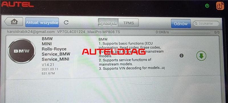 Solved Autel Mp808ts Bmw Diagnostic Software Download Failed (2)