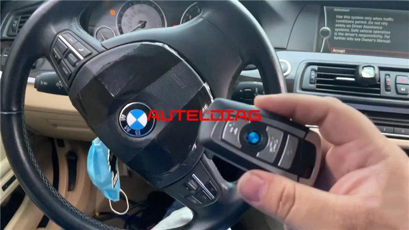 Autel Im608 Pro Program Bmw 2011 535i Cas4 A Key By Obd (16)