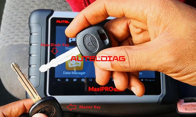 Autel Mp808ts Adds A Blade Key For Toyota Corolla Matrix 2008 (1)