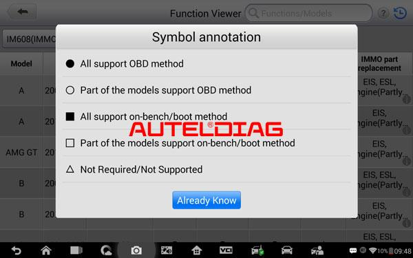 Check Immo Supported Car List In Autel Im508 Im608 (3)