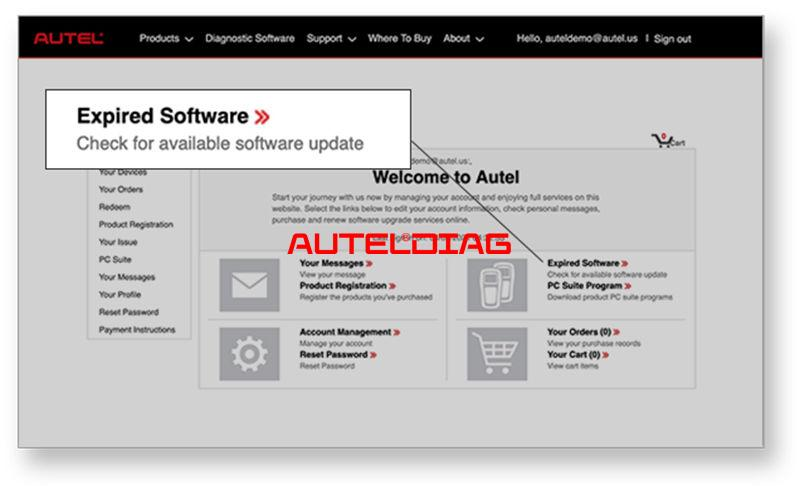 How To Stay Updating Autel Total Care Program Tcp (4)
