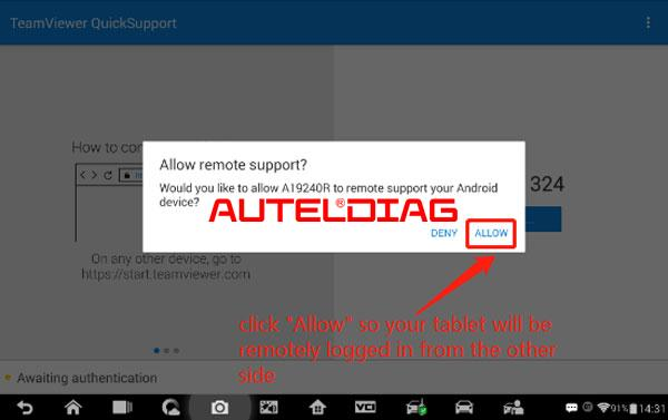 Remotely Connect With Autel Scan Tool For Diagnoses (3)