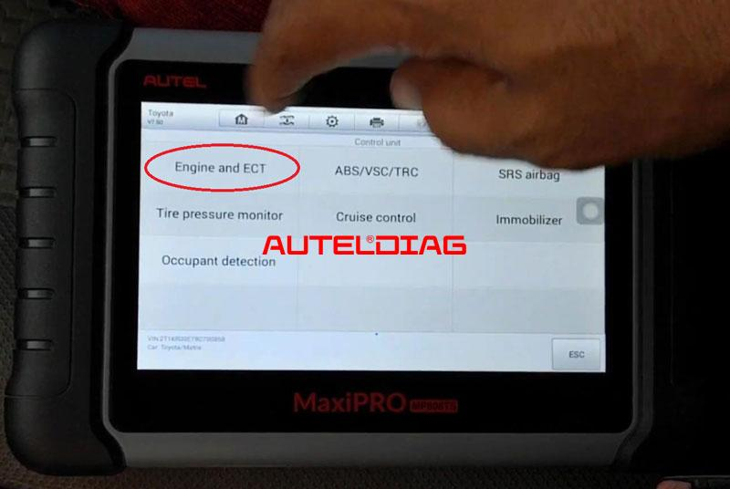 Use Autel Mp808ts To Find A Misfiring Cylinder (4)