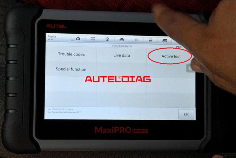 Use Autel Mp808ts To Find A Misfiring Cylinder (6)