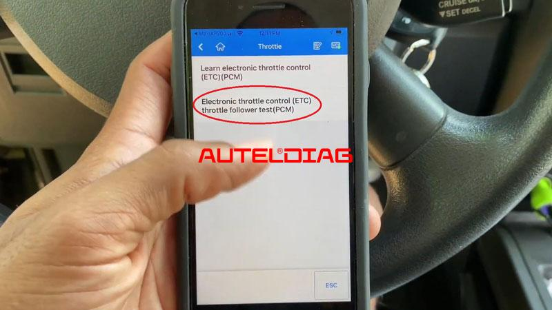 Use Autel Ap200 To Reset Throttle Position For Vehicles (10)