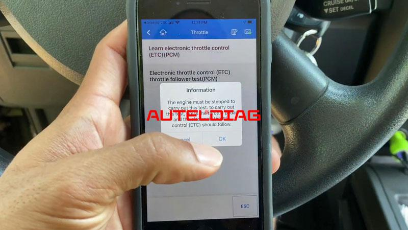 Use Autel Ap200 To Reset Throttle Position For Vehicles (11)