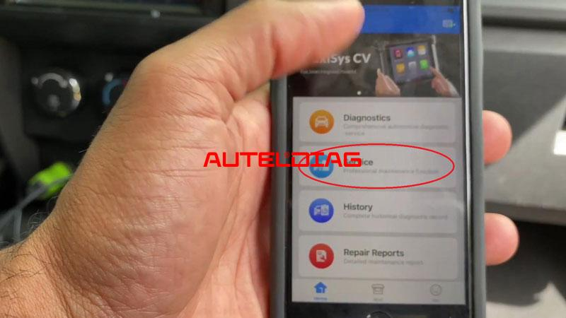 Use Autel Ap200 To Reset Throttle Position For Vehicles (2)