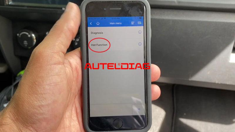 Use Autel Ap200 To Reset Throttle Position For Vehicles (4)