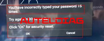 Solved Forgot Power On Passwords Of Autel Diagnostic Tool (2)
